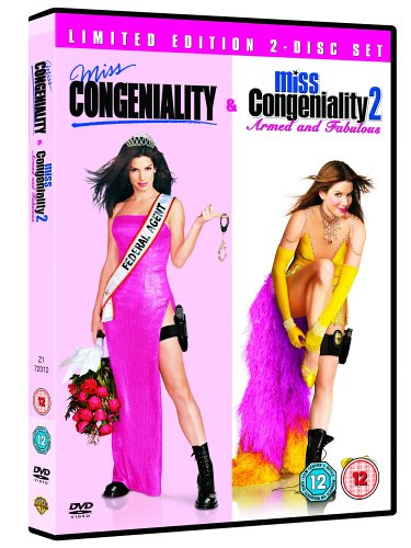 Miss Congeniality / Miss Congeniality Armed and Fabulous [UK Import] von Warner Home Video