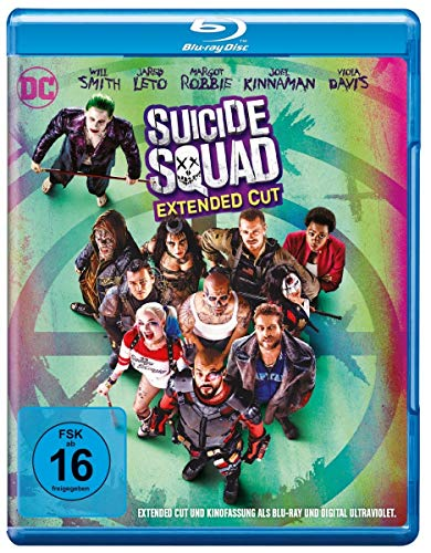 Suicide Squad inkl. Extended Cut [Blu-ray] von Warner Home Video