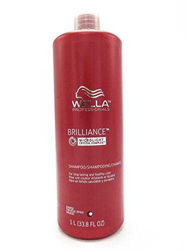 Wella Brilliance Shampoo for Coarse Colored Hair for Unisex, 33.8 Ounce by Wella (English Manual) von WELLA