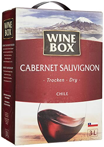 WineBox Cabernet Sauvignon Chile trocken Bag-in-Box (1 x 3 l) von WineBox