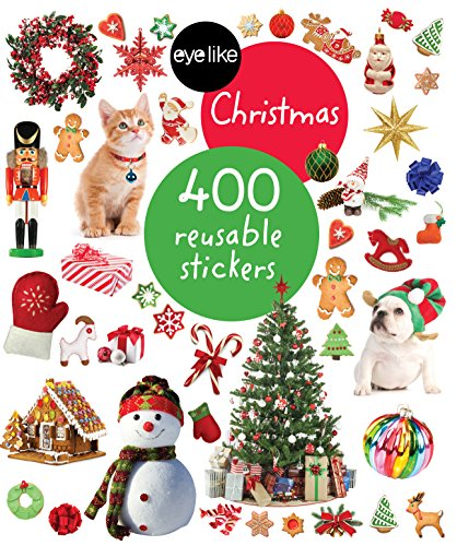 Eyelike Stickers: Christmas: 400 reusable stickers von Workman Publishing