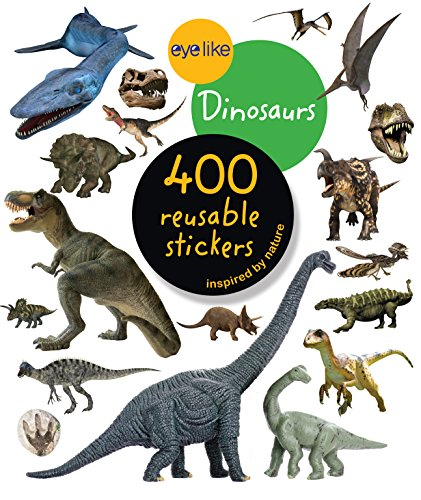 Eyelike Stickers: Dinosaurs von Workman Publishing