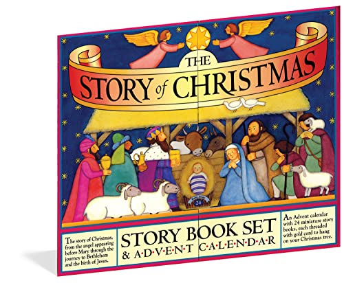 The Story of Christmas Story Book Set and Advent Calendar von WORKMAN PR