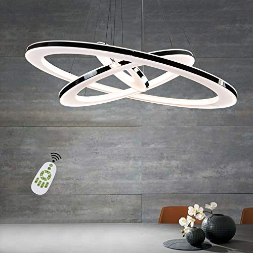 Gallery Of Zmh Moderne Led Esstisch W Led Ring Led Dimmbar Hngeleuchte  Wohnzimmer With Hngelampe Led Dimmbar