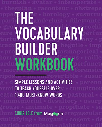 The Vocabulary Builder Workbook: Simple Lessons and Activities to Teach Yourself Over 1,400 Must-Know Words von ZEPHYROS PR