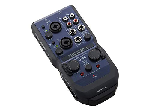 ZOOM U-44 Handy Audio Interface von Zoom