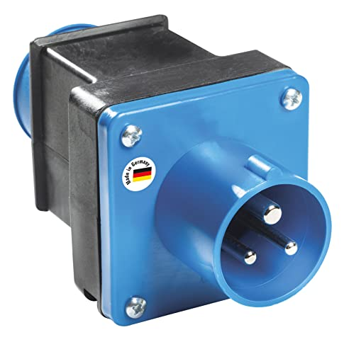 as - Schwabe 60494 Camping-Adapter 230V / 16A / 3polig Camping-Strom-Adapter von as - Schwabe