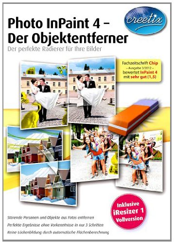 Photo InPaint 4 - Der Objektentferner [Download] von bhv Distribution