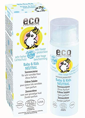eco cosmetics Baby Sonnencreme LSF50+ neutral 50ml von eco cosmetics