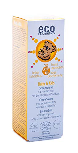 eco cosmetics Baby & Kids Sonnencreme LSF45 50ml von eco cosmetics