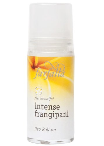 Farfalla: Deo Roll-on Intense Frangipani (50 ml) von farfalla