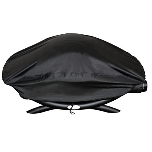 Onlyfire BBQ Gas Grill Cover Fit For Weber Baby Q, Q100 Q120 And Q1000 Gas