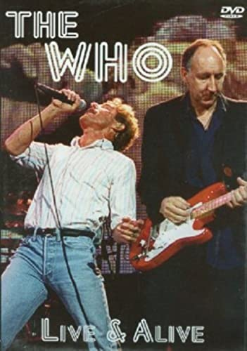 The Who - Live & Alive von peter west trading & music production e.k.
